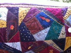 BeanTown Embroidery: Harry Potter Quilt