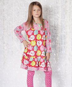 Take a look at this Jingle Jelly Renee Dress & Leggings - Infant, Toddler & Girls by Jelly the Pug on #zulily today!
