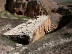 Some archaeologists might well wish that Baalbek had been buried forever. For it is here that we find the largest dressed stone block in the world – the infamous Stone of the South, lying in its quarry just ten minutes walk from the temple acropolis. This huge stone weighs approximately 1,000 tons – almost as heavy as three Boeing 747 aircraft.