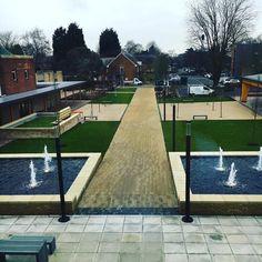 The new look @uniofnottingham Sutton Bonington campus landscape works are looking great @uonsustainability @ashjroberts87