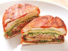 Mexican Fried Eggplant Sandwich (Vegan Tortas and Pambazos)