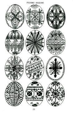 Pysanka Designs
