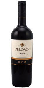 2009 De Loach Zinfandel OFS    Winemaker's Notes:  Dark ruby in color, this Zinfandel is rich, complex and structured with deep notes of blackberries and candied fruits accented by hints of lavender and chocolate. This is a medium-to-full-bodied Zinfandel with firm tannins that will age well for years to come.    Was $29.99 ON SALE NOW FOR $23.99