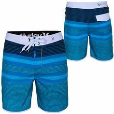Hurley Phantom Block Party Warp 3 Boardshort - Blue