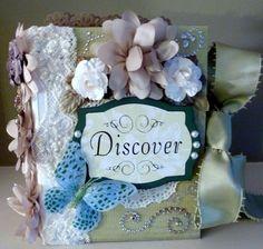 ~Discover~ Premade Scrapbook Interactive Album *Adriana*