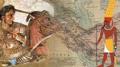 FoulsCode: Τι αποκάλυψε ο θεός Άμμων στον Μέγα Αλέξανδρο Alexandre Le Grand, Greek History, Ancient Mysteries, Alexander The Great, Ancient Greece, Mythology, Camel, Vintage World Maps, Mystery