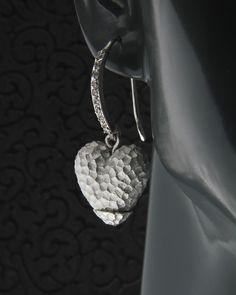 Ασημένια σκουλαρίκια 925 με Ζιργκόν