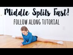 How to do the Middle Splits - YouTube