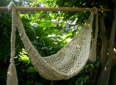 Crocheted Baby Hammock Photo Prop Only by NanasKnottyCreations, $19.99
