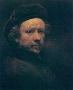 "Rembrandt, ""Self Portrait"""