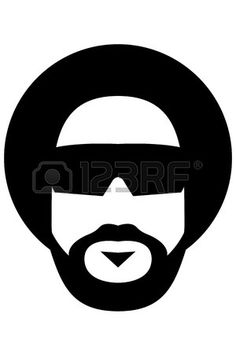 afro style Stock Vector
