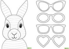 Easter Bunny Template Decorating for Easter should be easy and fun—not a complicated . Vorlage: Osterhase zu färben / Modèle: Lapin de Pâques à colorier Read the EASTER Bunny Legend and Easter eggs history Easter Bunny, also called the Easter Rabbit Easter Craft Activities, Easter Art, Bunny Crafts, Easter Crafts For Kids, Rabbit Crafts, Diy Crafts, Easter Ideas, Paper Crafts, Easter Bunny Template