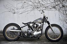 Bobber Inspiration | Hardtail Harley-Davidson Knucklehead bobber | Bobbers and Custom Motorcycles