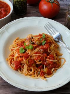 Pyry na Gaz: Spaghetti Puttanesca