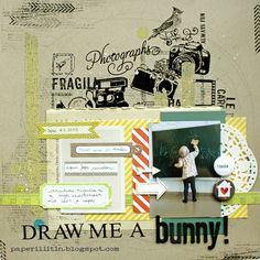 Draw me a bunny! by Riikka Kovasin for CSI