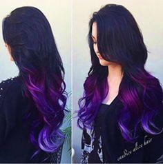 hair, hair color, tips, purple, purple hair Bright Hair, Dye My Hair, Cool Hair Color, Hair Colors, Hair Color Tips, Grunge Hair, Hair Dos, 4b Hair, Ombre Hair