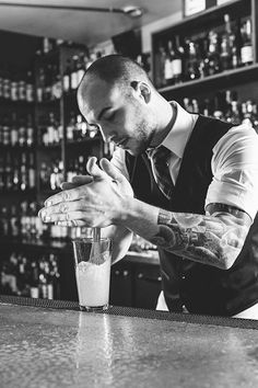 Bartender at Mitchells Pub.