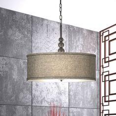 Annuziata 3-Light LED Drum Pendant