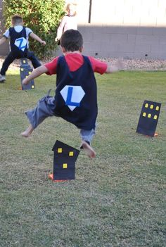 Super Hero Obstacle Course @Lisa Phillips-Barton Phillips-Barton Phillips-Barton Phillips-Barton Tyger