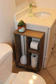 Brilliant Ideas For DIY Bathroom Storage Design - Decoration İdeas Cabinet Furniture, Living Room Furniture, Diy Furniture, Furniture Projects, Bathroom Furniture, Diy Projects, Furniture Storage, Antique Furniture, Living Rooms