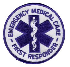 Emergency Medical Care First Responder Patch