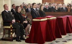 Los Reyes y los Príncipes de Asturias presiden el funeral de Estado por Adolfo Suárez