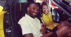 Kobe Bryant Has A Soft Spot For Ferrari FXX K #celebrities #Ferrari