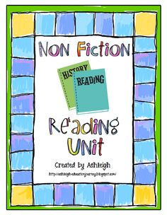 Ms. Fultz's Corner: Nonfiction Text Features