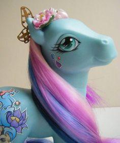 OOAK Custom Oriental inspired MLP My Little Pony Kancho ~ by Eponyart | eBay