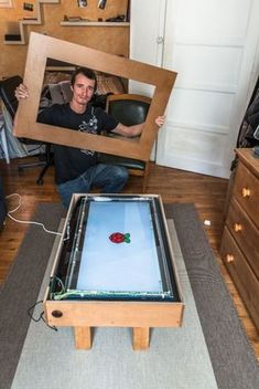 Touch Screen Coffee Table DIY With TV and Low Cost CCD Sensor: 18 Steps (with Pictures) Source by reschabre