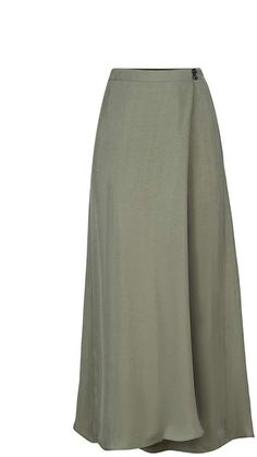 Browse Khaki Wrap Me Skirt and more from FLOW at Wolf & Badger - the leading destination for independent designer fashion, jewellery and homewares. Skirt Patterns Sewing, Long Skirt Patterns, Hijab Fashion, Fashion Outfits, Womens Fashion, Model Rok, Moslem Fashion, Professional Dresses, Cool Outfits