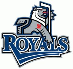Victoria Royals Primary Logo - The logo is a stylized, heraldic lion holding a hockey stick with the script 'Royals' underneath. Royal Logo, Hockey Logos, Sports Clubs, Sports Logos, Team Mascots, Vancouver Canucks, Vancouver Island, Victoria, Sports