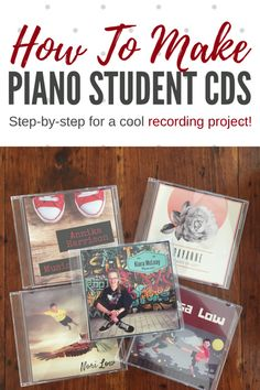 Creating Piano Student CDs To Thrill Your Kiddos and Inspire Incredible Home Practice #TeachPianoToday #PianoLessons #PianoTeaching