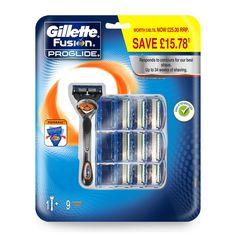 ¡Chollo! Gillette Fusion Proglide Flexball – Maquinilla de afeitar con 10 recambios por 32,50 euros.