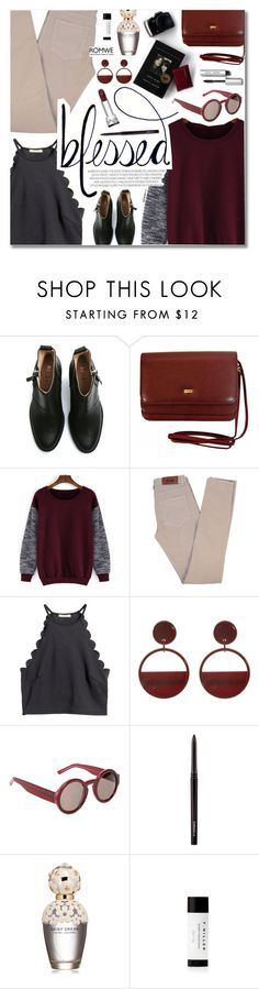 """""""Blessed"""" by talukder ❤ liked on Polyvore featuring Acne Studios, H&M, Marni, MAC Cosmetics, Marc Jacobs, Bobbi Brown Cosmetics, women's clothing, women's fashion, women and female"""