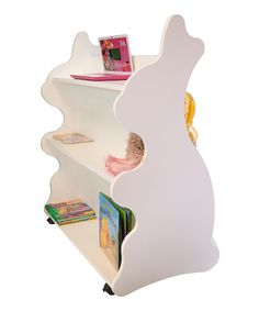 Look at this Ace Baby Furniture White Rabbit Mobile Double-Sided Bookcase on #zulily today!