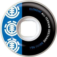 ELEMENT Section Blue/Black roues de skate 54mm 95A 27,00 € #skate #skateboard #skateboarding #streetshop #skateshop @playskateshop