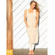 hippie aprons - Google Search Linen Apron, Kitchen Aprons, Hemp, Organic Cotton, Dresses For Work, Pure Products, Cannabis, Ships, Neckline