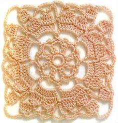 crochet squares and circles with patterns