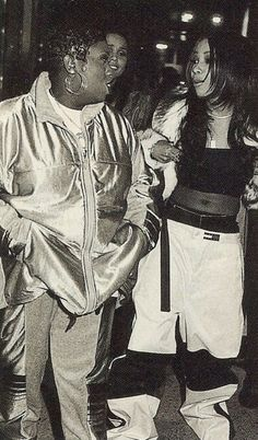 Missy and Aaliyah