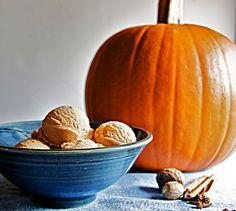 Pumpkin Ice Cream #pumpkin #ice #cream #dessert #Recipe