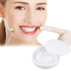 Each person on this planet owns a different set of teeth, that is why we will introduce you to a product that can give that IDEAL SMILE to every person, regardless of what kind of teeth they have. Introducing the PERFECT SMILE SNAP-ON BRACES. Dental Braces, Teeth Braces, Dental Teeth, Dental Care, Perfect Smile Teeth, Invisible Braces, Veneers Teeth, Safe Cosmetics, Stained Teeth