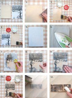 Pieni lankarulla: Puisia kuvatauluja Diy And Crafts, Decoupage, Gallery Wall, Frame, Prints, Malli, Dyi, Home Decor, Crafting