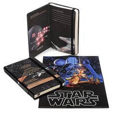 Limited addition Star Wars Moleskine notebooks. I know what I'm getting my husband for Christmas.
