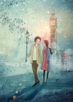New Drawing Love Couple Cuddling Art 54 Ideas Love Cartoon Couple, Cute Love Cartoons, Anime Love Couple, Cute Couple Drawings, Cute Couple Art, Cartoon Pics, Girl Cartoon, Couple Illustration, Illustration Art