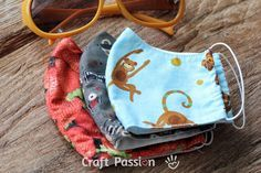 Child and Adult fabric Dust face mask sewing pattern