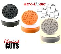 "Chemical Guys HEX_3KIT_5 - Hex-Logic 5.5"" Buffing Pad Sampler Kit (4 Items)"