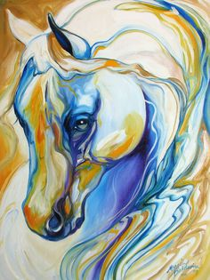Arabian Abstract Painting by Marcia Baldwin - Arabian Abstract Fine Art Prints and Posters for Sale