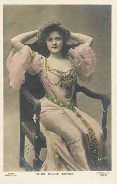 Billie Burke, i see this as a Young Molly Weasely aka Prewett.