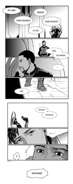 How to call you || Erik Killmonger & T'challa || Black Panther || Cr: 鳥